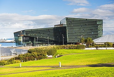 Harpa Concert Hall and Conference Centre, Reykjavik, Iceland, Polar Regions