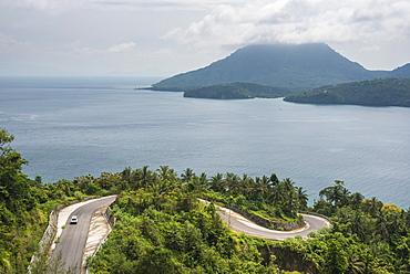 Minivan exploring Pulau Weh Island, Aceh Province, Sumatra, Indonesia, Southeast Asia, Asia
