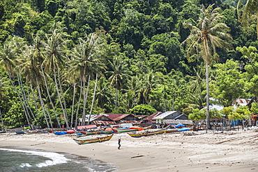 Sungai Pinang, a fishing village near Padang in West Sumatra, Indonesia, Southeast Asia, Asia
