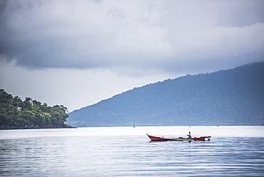 Fishing boat, Pulau Weh Island, Aceh Province, Sumatra, Indonesia, Southeast Asia, Asia