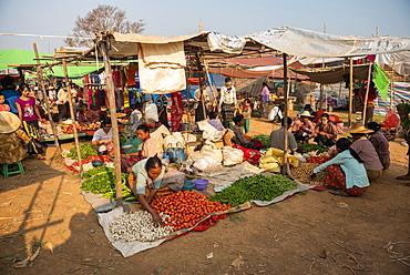 Ywama Market, Inle Lake, Shan State, Myanmar (Burma)