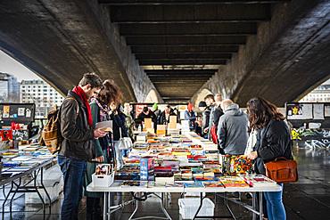 South Bank Second Hand Book Market, South Bank, Southwark, London, England, United Kingdom, Europe