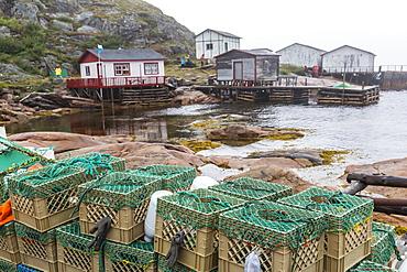 The small fishing village at Cape Charles, Labrador, Canada, North America