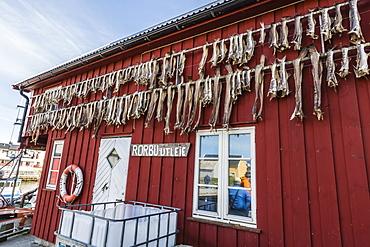 View of the small village of Vellholmen, Smola Island, Norway, Scandinavia, Europe