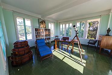 Hemingway's observation deck at Finca Vigia (Finca La Vigia), in San Francisco de Paula Ward in Havana, Cuba, West Indies, Central America