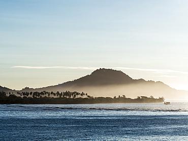 Early morning light on Taveuni Island, Vanua Levu Group, Republic of Fiji, South Pacific Islands, Pacific