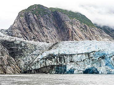 Sawyer Glacier, Tracy Arm-Fords Terror Wilderness Area, Southeast Alaska, United States of America