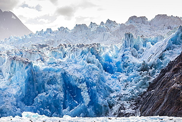 South Sawyer Glacier, Tracy Arm-Ford's Terror Wilderness area, Southeast Alaska, United States of America, North America