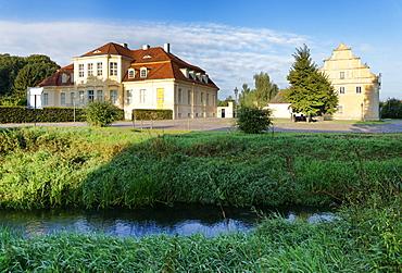 Reckahn Castle, Lehnin abbey, Potsdam-Mittelmark, Brandenburg, Germany