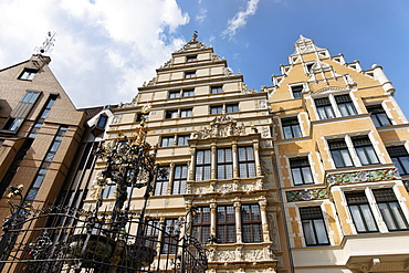 Leibniz House, Holzmarkt, Hannover, Lower Saxony, Germany