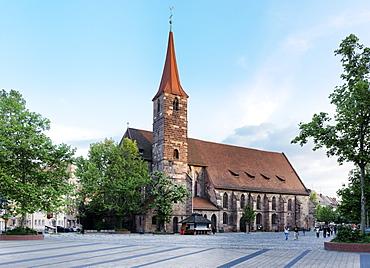 Church of St. Elisabeth, Ludwigplatz, Nuremberg, Middle Franconia, Bavaria, Germany