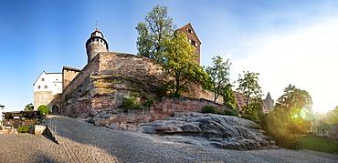 Imperial Castle, Nuremberg, Middle Franconia, Bavaria, Germany