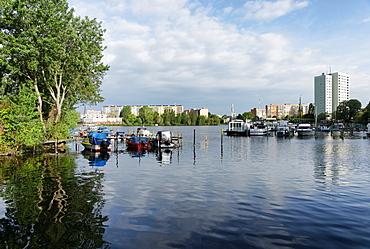 Neustadt Bay, Havel, Potsdam, Brandenburg, Germany