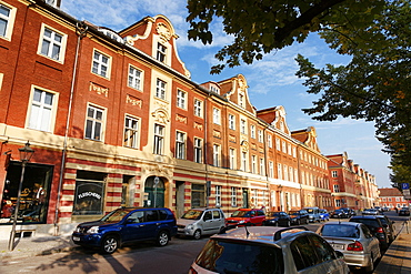 Am Bassinplatz, Dutch Quarter, Potsdam, Brandenburg, Germany