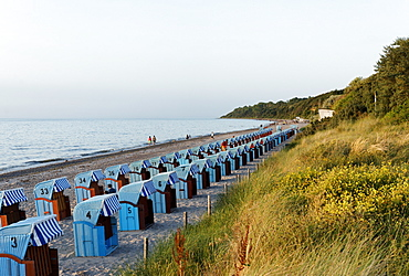 Baltic sea beach, Seaside Resort of Rerik, Mecklenburg-Western Pomerania, Germany