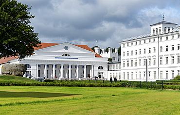 Spa hotel in the Baltic sea resort of Heiligendamm, Mecklenburg-Western Pomerania, Germany