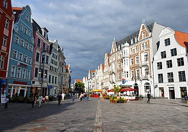 Kroepelin Street, Hanseatic City of Rostock, Mecklenburg-Western Pomerania, Germany