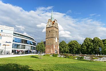 Kroepelin Gate, Hanseatic City of Rostock, Mecklenburg-Western Pomerania, Germany