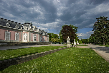Schloss Benrath Benrath Palace, Duesseldorf, North Rhine-Westphalia, Germany