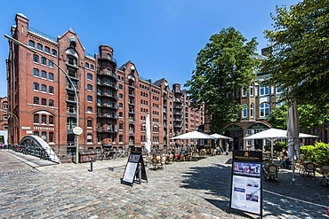 Speicherstadt warehouse district, Hamburg, Germany