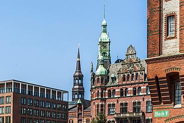 Speicherstadt warehouse district, Hamburg, Germany