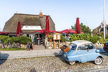 Restaurant, Kampen, Sylt, Schleswig-Holstein, Germany