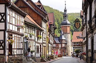 Saigerturm, Stolberg, Harz, Saxony-Anhalt, Germany, Europe