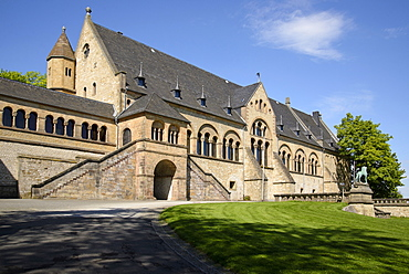 Imperial Palace of Goslar, Harz, Lower-Saxony, Germany, Europe