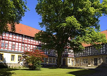 Herzberg Castle, Herzberg, Harz, Lower-Saxony, Germany, Europe