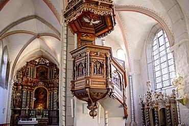 St. Jacobi church, Goslar, Harz, Lower-Saxony, Germany, Europe