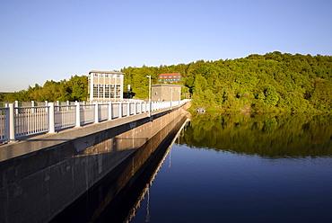 Rappbode reservoir, Harz, Saxony-Anhalt, Germany, Europe