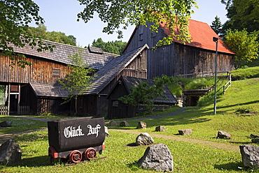 Samson Mine, Mining museum, St. Andreasberg, Harz, Saxony-Anhalt, Germany, Europe