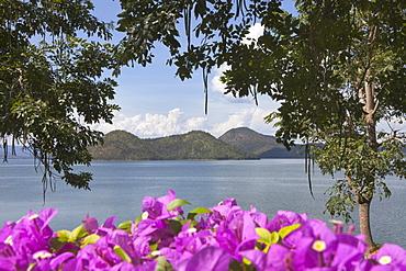 Tha Thung Na dam in the Erawan national park, Kanchanaburi, Kanchanaburi Province, Thailand, Asia