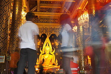 Buddhistic Temple Wat Phra Si Rattana Mahathat in Phitsanulok, Phitsanulok Province, Thailand, Asia