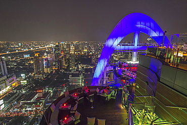 Red Sky Rooftop Bar, Centara Grand, Bangkok, Thailand