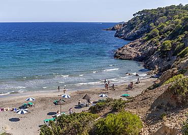 Cala Boix, Ibiza, Balearic Islands, Spain