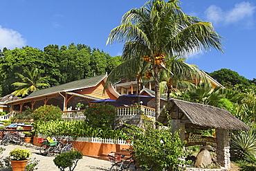 L´Ocean Restaurant, La Digue, Seychelles, Afrca