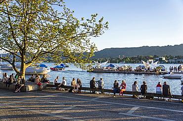 lake Zurich promenade, Zurich, Switzerland