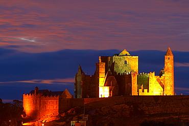 outdoor photo, sunset, Rock of Cashel, Cashel, County Tipperary, Ireland, Europe