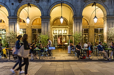 Ocana Bar, Club, Placa Reial, Barri Gotic, Barcelona, Catalonia, Spain