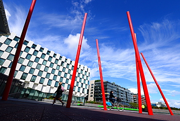 Grand Canal Theatre in the Docklands, Dublin, Ireland