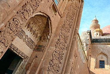 In the Ishak Pasa Palace near Dogubayazit at Ararat, Kurds area, east Anatolia, East Turkey, Turkey