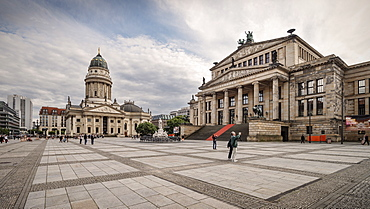 Deutscher Dom, German cathedral and concert hall on Gendarmen Market, Berlin, Germany