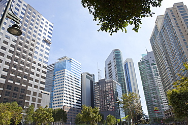 Bonifacio Global City, Luxury apartment buildings in the new the financial and business district of the capital Metro Manila, Ph