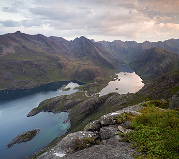 Loch Coruisk, Eilean Glas, Loch na Cuilce, Isle of Skye, Inner Hebrides, Highland, Scotland, United Kingdom