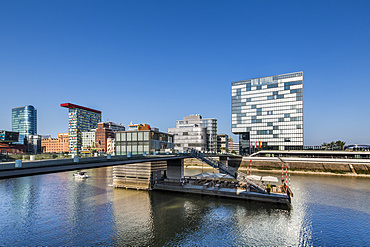 Hyatt Hotel, Media harbour, Duesseldorf, North Rhine Westphalia, Germany