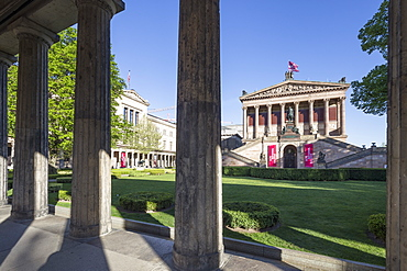 Old National Gallery, Old Museum, Museum Island, Berlin Mitte, Germany