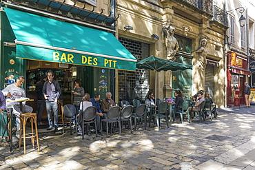 Bar des PTT, Place Richelme, Aix en Provence, Cote d'Azur, France