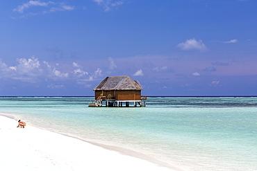 Honeymoon-watervilla at Meeru Island Resort, Meerufenfushi, North-Male-Atoll, Maldives