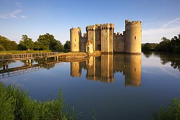 Bodiam Castle, Robertsbridge, East Sussex, Great Britain